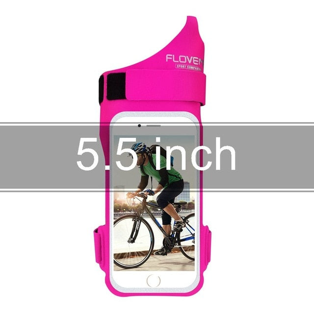 FLOVEME Sport Arm Band Sport Accessories Mobile Phone Bag iPhone 6 6s 7 8 8s Plus Pouch - Casebuddy