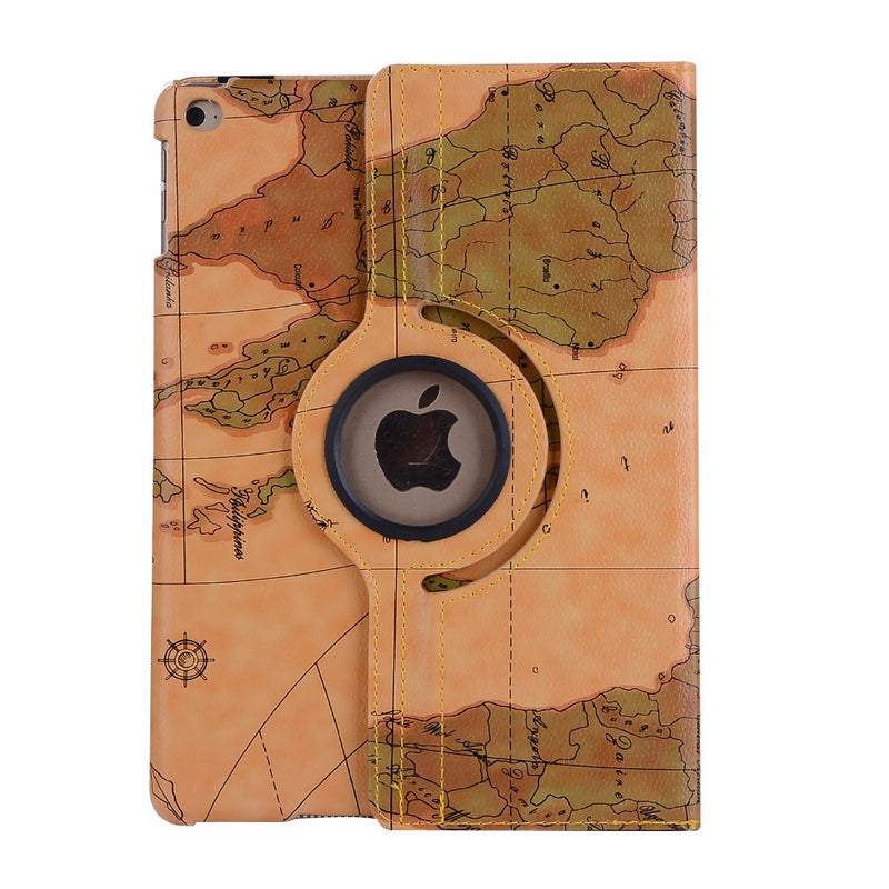 360 Rotating World Map Smart  Case Apple iPad Air 3 10.5 2019 A1701 A1709 Cover Stand Holder Protective - Casebuddy