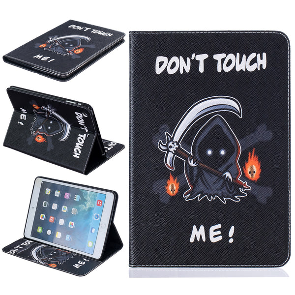 The King Of Terrors Print  PU Leather Case iPad Air 3 2 1 9.7 Inch 7 6 5 4 3 2 Mini 4 3 2 Wallet Stand Cover - Casebuddy