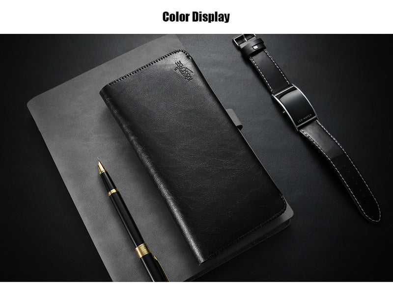 Luxury Pouch 6.0 inch Universal iPhone X  XS 8 7 6S 6 Plus Wallet Case Card Holder Pouch Purse - Casebuddy