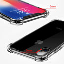 FLOVEME Original Anti-knock Case iPhone X XS 8S 7 8 Plus Shockproof Transparent Thin Silicone Cover - Casebuddy