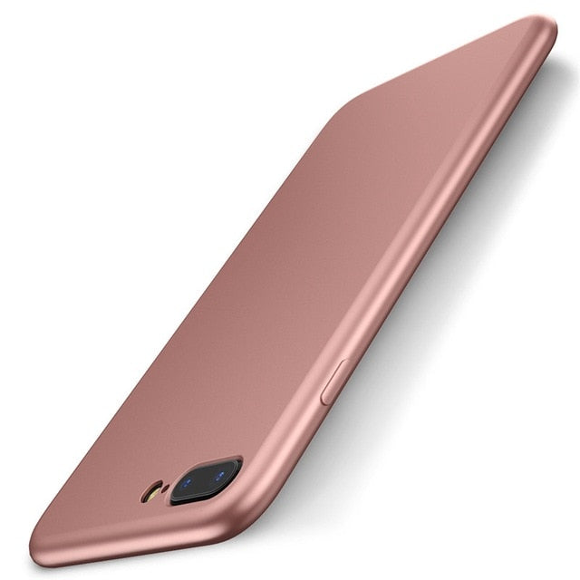 FLOVEME Soft Silicone Matte Smooth Back Cover iPhone X XR XS MAX 8 7 Plus 6s 6 Plus 5s 5 SE - Casebuddy