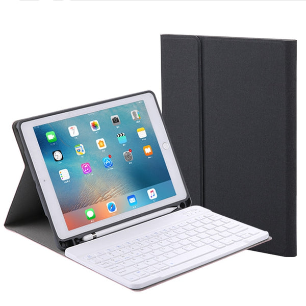 Ultra Slim Smart Cover Protective bluetooth keyboard Case With Pencil Holder For New iPad 9.7 inch 2018 2017 Air 1 2 Pro 9.7 - Casebuddy