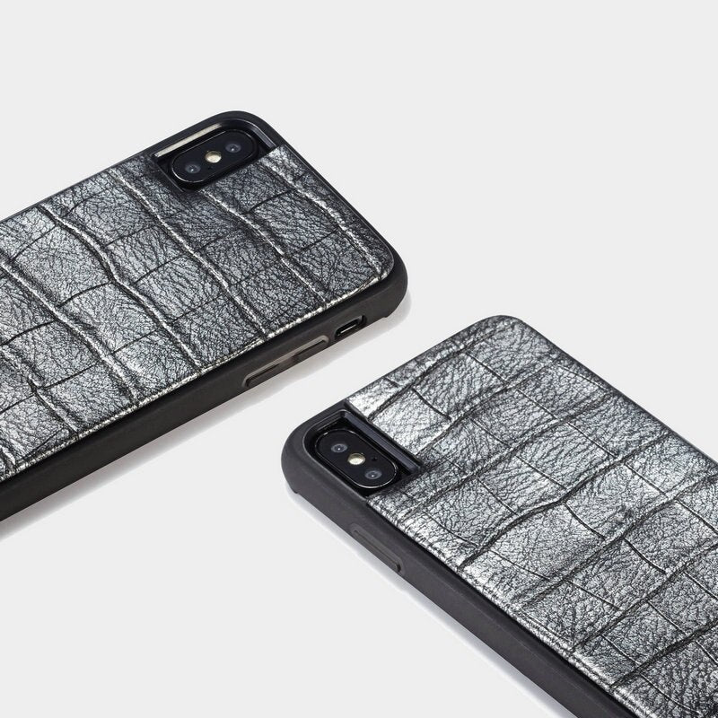 WHATIF Crocodile Pattern Fashion TPU Cover For iPhone X XR XS Max 8 7 Plus  with Wrist strap Luxury Case - Casebuddy