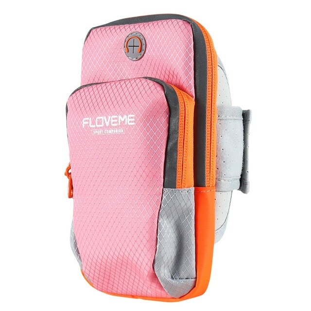 FLOVEME Universal iPhone 8 7 6 6S 5 SE 5S 4S Sport Running Bag Arm Band Pouch Bag - Casebuddy