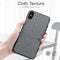 FLOVEME Retro Cloth iPhone XR XS MAX X 7 8 Plus 6 6S Classic Business Soft Case - Casebuddy
