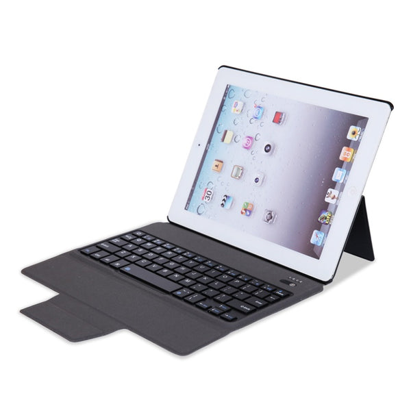 Luxury Smart Cover Apple iPad 2 3 4 A1458 A1459 A1460 Wireless Bluetooth Keyboard Case - Casebuddy