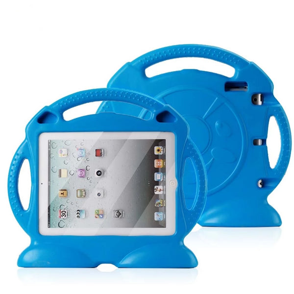iPad 2 3 4 Non-toxic EVA handgrip stand Shock Proof EVA full body cover Kids Children Safe Silicone - Casebuddy