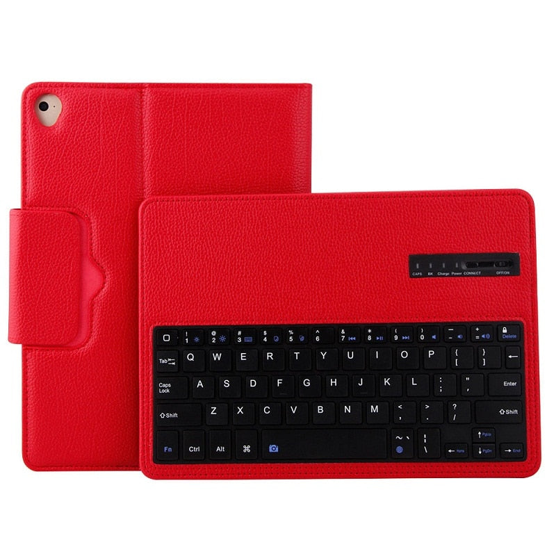 Magnetic Detachable Bluetooth Keyboard Leather Stand Case For iPad Mini 1 2 3 4 5