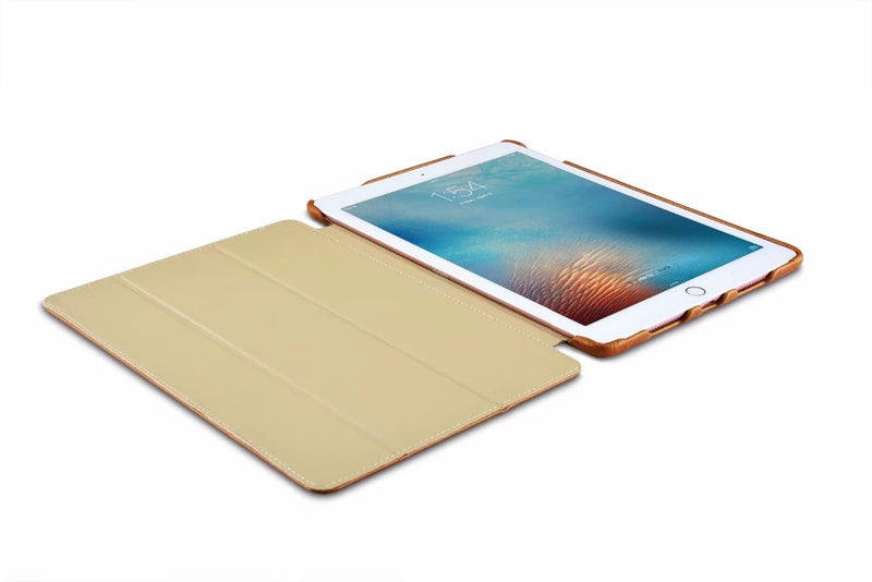 iCarer Smart Cover iPad Pro 9.7 Genuine Leather Case Luxury Magnet Foldable Stand Slim Sleeve - Casebuddy