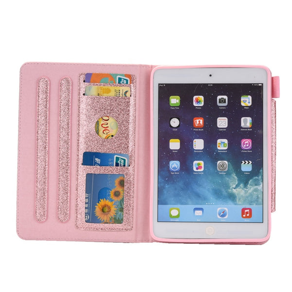 Apple IPad Mini 3 2 1 Glitter Bling Leather Fundas Case - Casebuddy