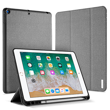 DUX DUCIS PU Leather Magnet Stand Smart Cover iPad Pro 10.5 inch 2017 Case With Pencil Holder - Casebuddy