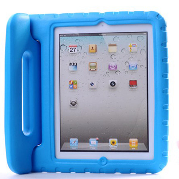 Apple iPad 2 3 4 Case Kids Shockproof EVA Cover Portable Handle Stand Holder Case Full Body Protection - Casebuddy