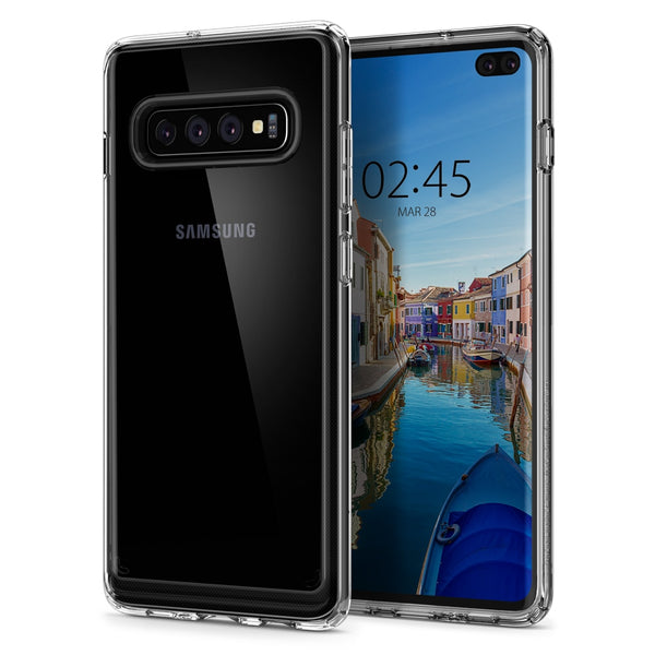 Ultra Hybrid Clear Hard Back Panel Soft TPU Bumper Case Samsung Galaxy S10 Plus S10E - Casebuddy
