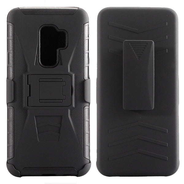 Armor Impact Holster Hard Case Shockproof Kickstand Belt Clip Back Cover Samsung Galaxy S8 S9 S10 A6 A8 Plus J5 J7 - Casebuddy