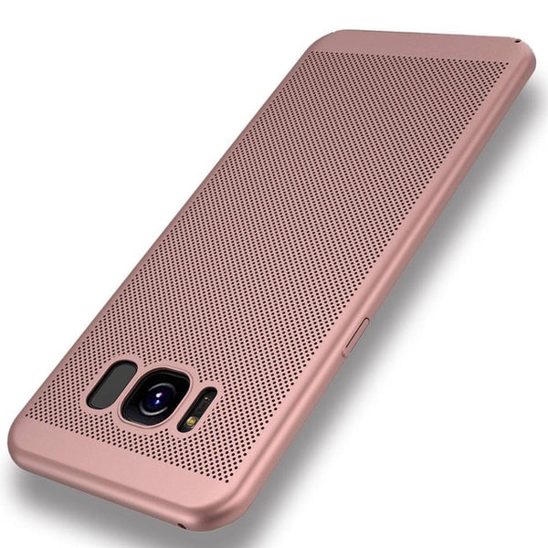 Samsung Galaxy S9 S10 S8 Plus S6 S7 Edge S10e J3 J5 J7 A7 A5 Case Hard PC Heat Dissipation Back Cover - Casebuddy