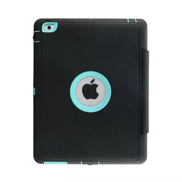 360 Full protection Case iPad 2 3 4 Kids Safe Shockproof Heavy Duty TPU Hard Cover kickstand - Casebuddy