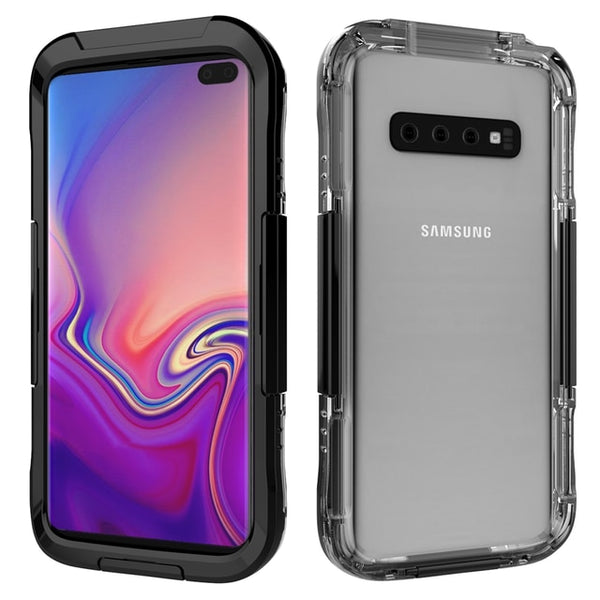 IP68 Waterproof Case Samsung Galaxy S10e S10 S9 S8 Plus S7 S6 Edge Note 9 8 5 Under Water Proof Diving Cover - Casebuddy