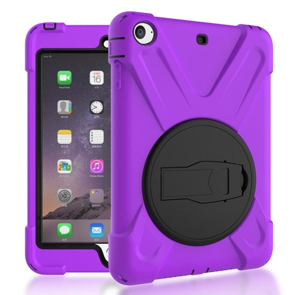 iPad mini 1 2 3 Hand-held Shock Proof Full Body Cover Handle Stand Sleeve Case - Casebuddy