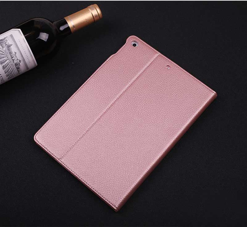 GEBEI Top Grade Gold Pattern Leather Case iPad Mini 3 2 1 Business Stand Smart Cover Case - Casebuddy