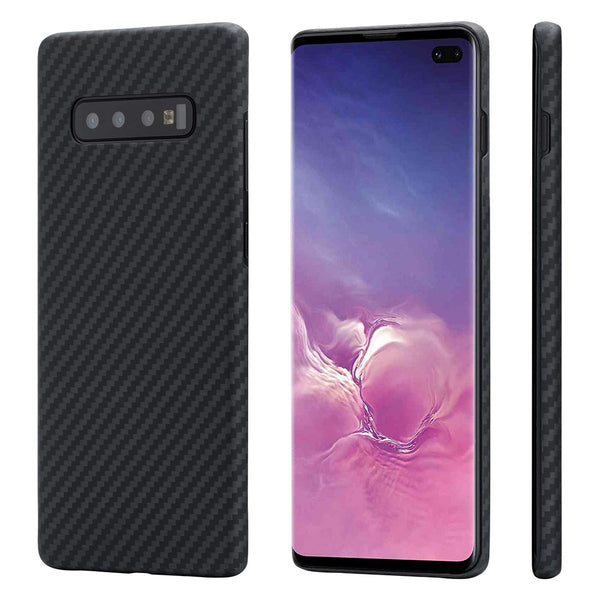 Samsung Galaxy S10 Plus S10e Cover Full Protection Carbon Fiber Pattern - Casebuddy