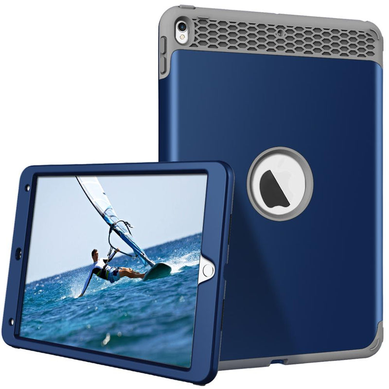 iPad Air 3 2019 Case Heavy Duty Shockproof High Impact Resistant Rugged Hybrid 3 Layer Protective Cover - Casebuddy