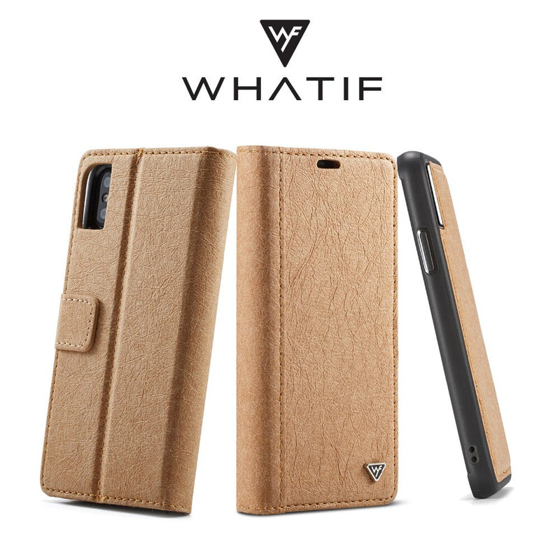 WHATIF DIY Unique Detachable Waterproof Leather Case iPhone X XR XS Max 6 6S 7 8S 8 plus Card Holder - Casebuddy