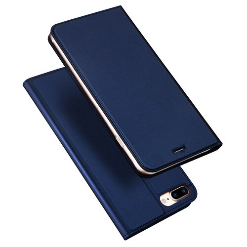 DUX DUCIS iPhone 8 7 8S Plus Case Luxury PU Leather Flip Stand Wallet - Casebuddy