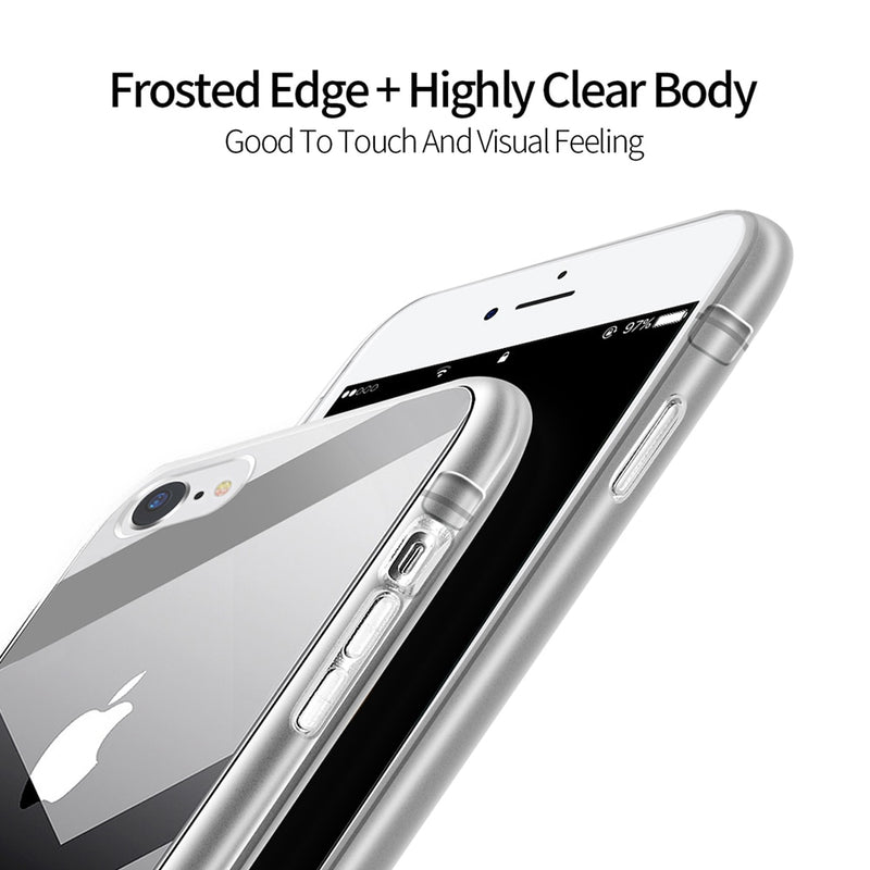 DUX DUCIS Transparent iPhone 8 7 8S Plus Soft TPU Silicone Clear Back Cover - Casebuddy