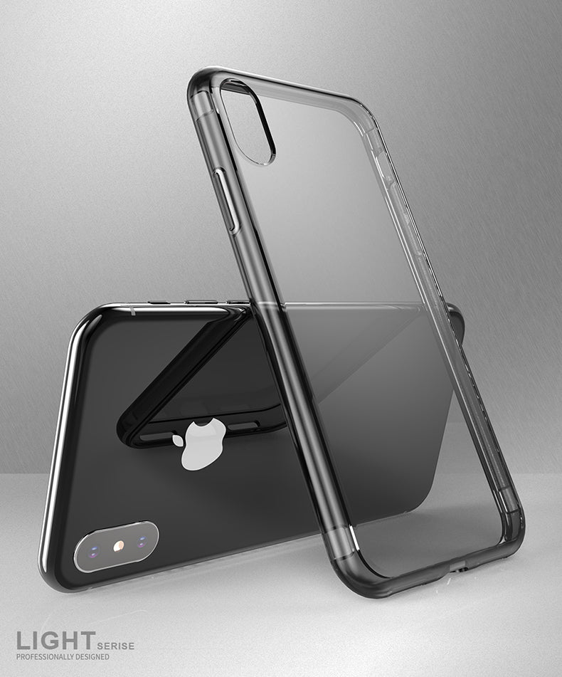 DUX DUCIS Transparent Case iPhone 8 7 Plus Xs Max X XR Soft TPU Silicone Clear Back - Casebuddy