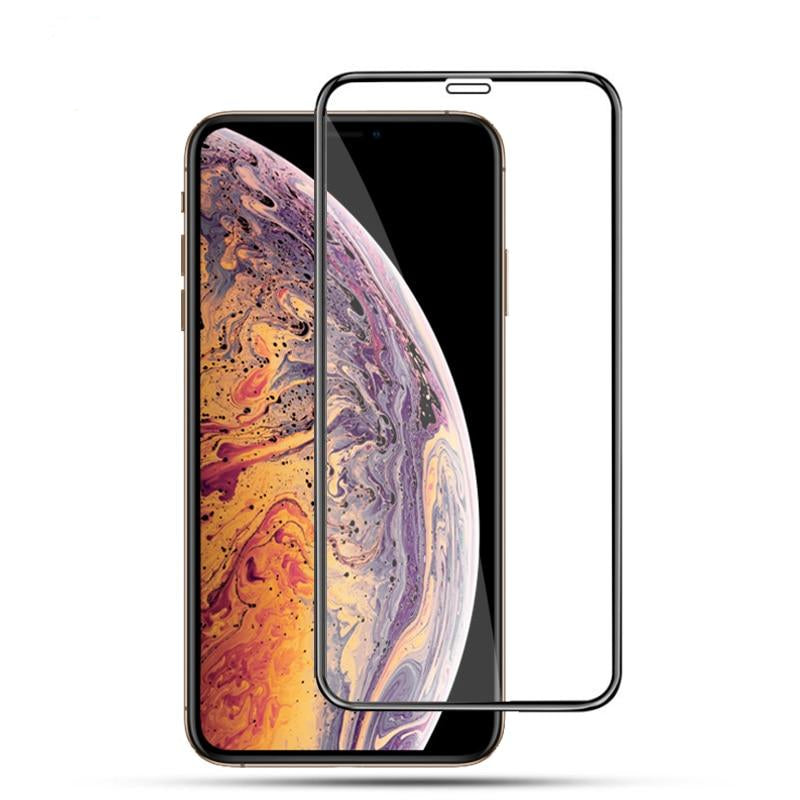 DUX DUCIS 9H Tempered Glass Full Cover Protective Glass iPhone Xs Max X S XR Screen Protector Film - Casebuddy