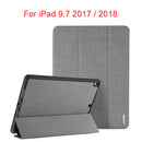 DUX DUCIS Smart Case iPad 9.7 2018 2017 iPad 5 6 Leather Flip Cover with Pencil Holder - Casebuddy