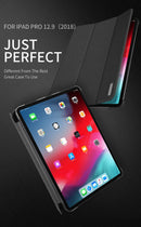 DUX DUCIS PU Leather iPad Pro 12.9 2018 Luxury Magnetic Flip Smart Cover Shockproof - Casebuddy