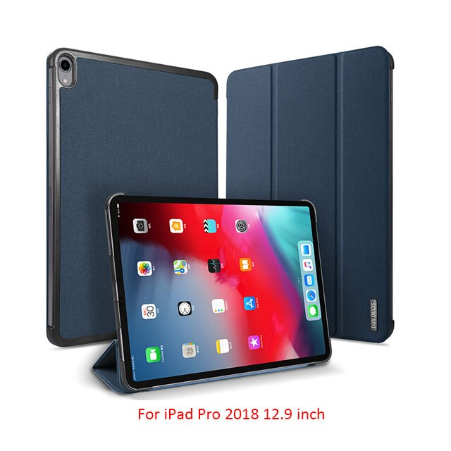 DUX DUCIS Magnetic Case for iPad Pro 11 2018 Leather Flip Protective Super Slim - Casebuddy