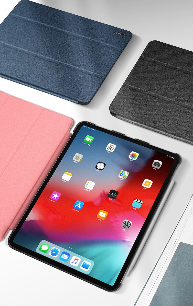 DUX DUCIS PU Leather Magnetic Stand Smart Cover for ipad Pro 11 inch 2018 A1980 - Casebuddy