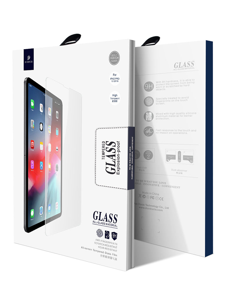 DUX DUCIS Tempered Glass for iPad Pro 12.9 2017 HD Hardness Screen Protector Film - Casebuddy