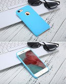 FLOVEME Silky Smooth Silicone iPhone 7 8 Plus Luxury Anti Knock Slim TPU - Casebuddy