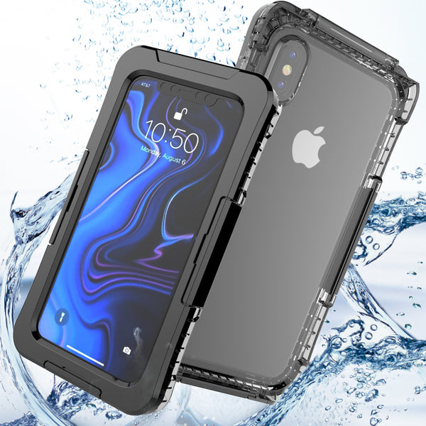 iPhone X XS Max XS 5 SE 5S 6 6S 7 8 Plus Waterproof Case Diving Outdoor Sports Shockproof Cover Case Underwater - Casebuddy