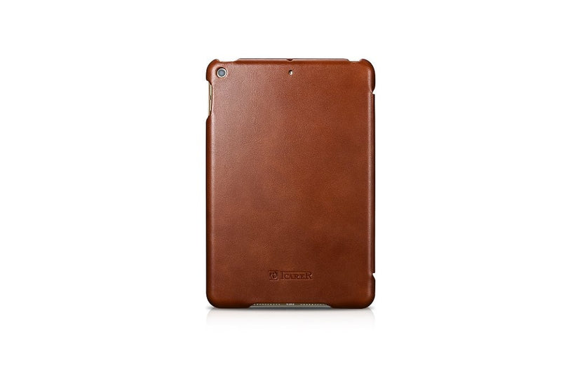 iCarer Old School Genuine Leather Case For iPad Mini 5 Vintage Leather Flip High Quality Business - Casebuddy