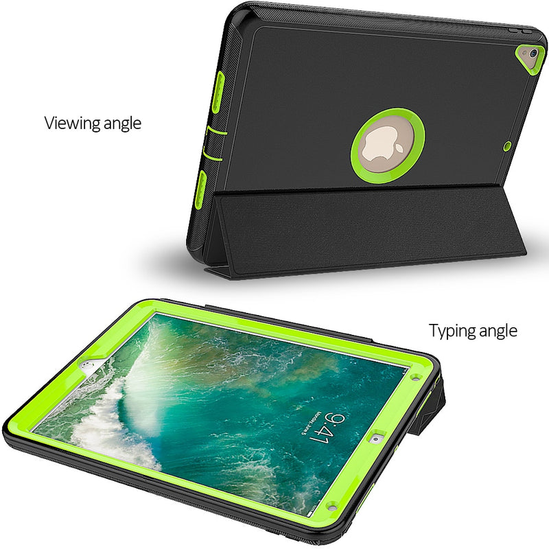 iPad Air 3 10.5 Case 2019 Kids Case Armor Heavy Duty Silicone Hard Shell Smart Auto Sleep Wake Cover - Casebuddy