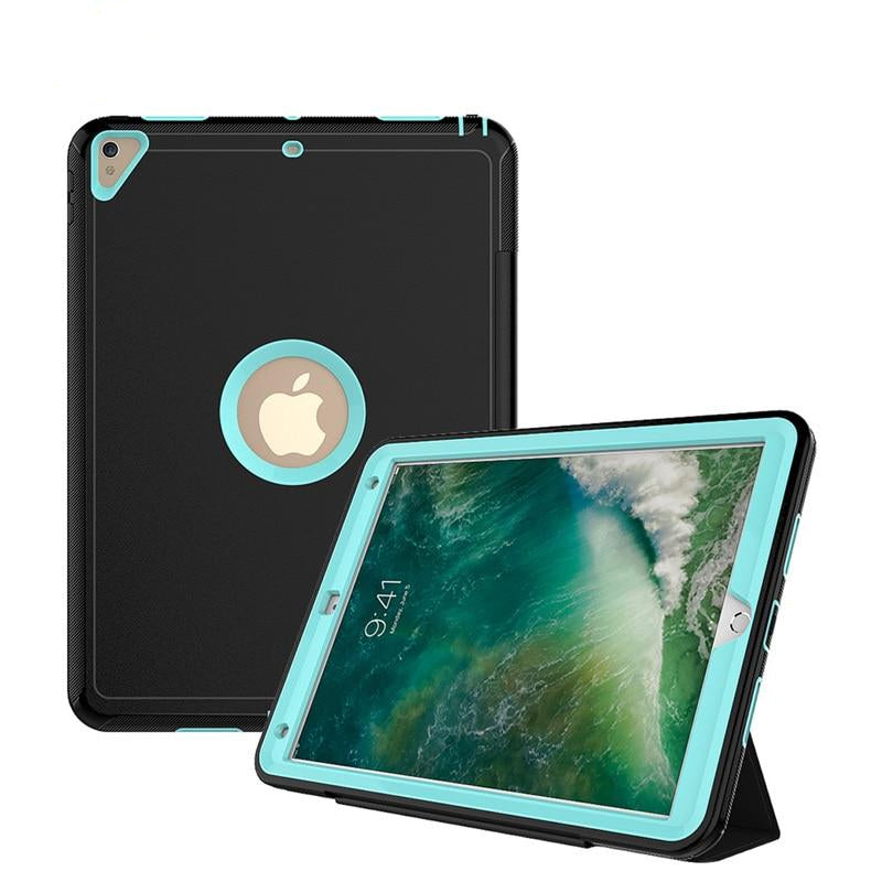 Luxury Smart Case iPad Pro 10.5 2017 Heavy Duty Armor Shockproof Leather Stand Cover Magnetic Slim - Casebuddy