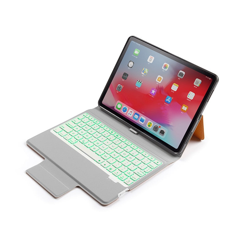 Apple iPad Air 3 10.5 2019 Smart Case with Pencil Holder 7 Colors Back-lit Keyboard Super Slim 3.6CM - Casebuddy