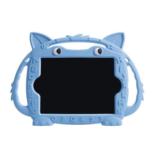 Silicone Case iPad mini 1 2 3 4 5 Kids Protective Soft Rubber Cover Shockproof Stand Animals Model - Casebuddy