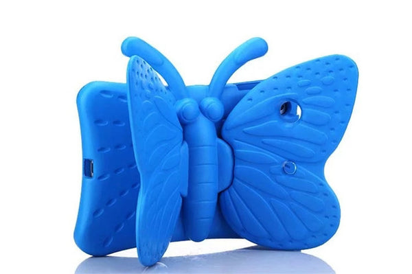 New Kids Safe Shockproof 3D Cartoon Butterfly Stand Case Apple iPad Mini 5 4 3 2 1 Tablet Cover - Casebuddy