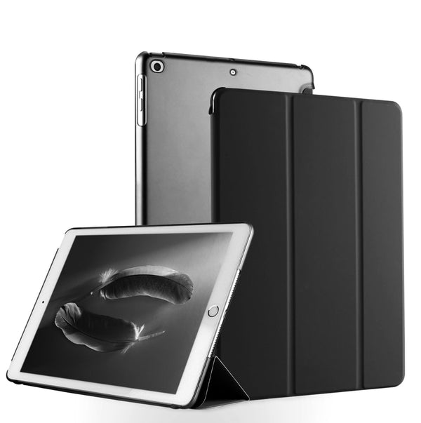 Ultra Slim Auto Sleep Wake Up Smart Cover Apple iPad Mini 1 2 3 Tri-Fold Stand Light Weight PU Leather - Casebuddy