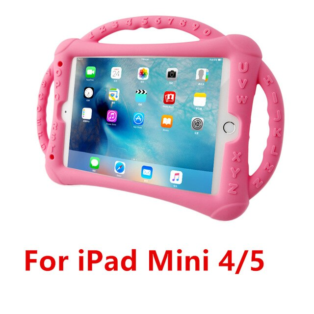 Silicone Cover Shockproof Kids Non-toxic Children Safe Case iPad 9.7 2018 2017 Air 1 2 Pro 9.7 Mini 2/3/4/5 - Casebuddy