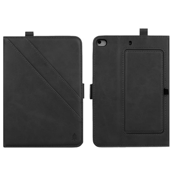 Double Kickstand Cover iPad Mini 5 4 3 2 1 Flip Retro Leather Smart Stand Case With Pencil Holder - Casebuddy