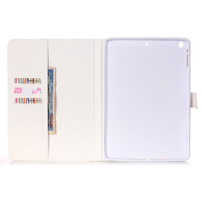 Plum Blossom Leather Case Protective Wallet Fashion Cover iPad 6 5 4 3 2 Air 1 2 Mini 5 4 3 2 1 - Casebuddy