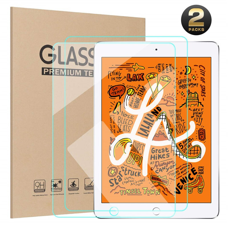 2 Pcs/Package iPad mini 5 7.9 inch 2019 Model A2133 Tempered Glass Screen Protector Cover - Casebuddy