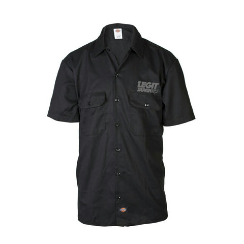 Dickies Work Shirt - Grey Logo